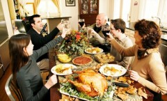 Thanksgiving comes with a cold